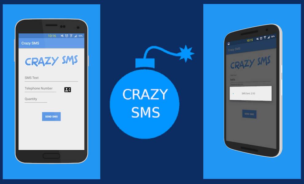 Crazy SMS Bomber